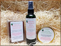 Amazing Jewelweed Soap, Salve and Spray