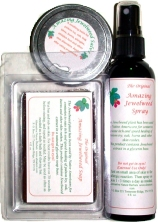 Amazing Jewelweed Soap, Spray and Salve for Poison Ivy and Poison Oak rash